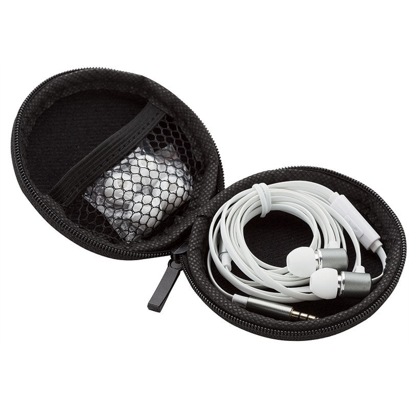 Earbuds with Mic in Case