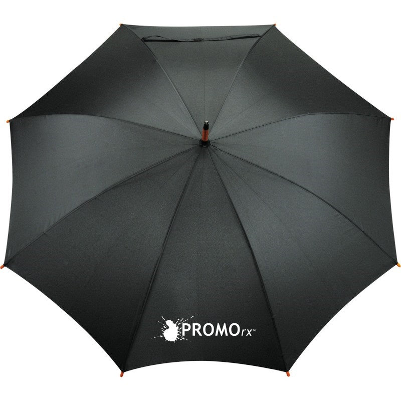 eco friendly promotional umbrella black
