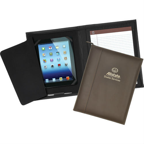 Executive Leather iPad Case with Notepad
