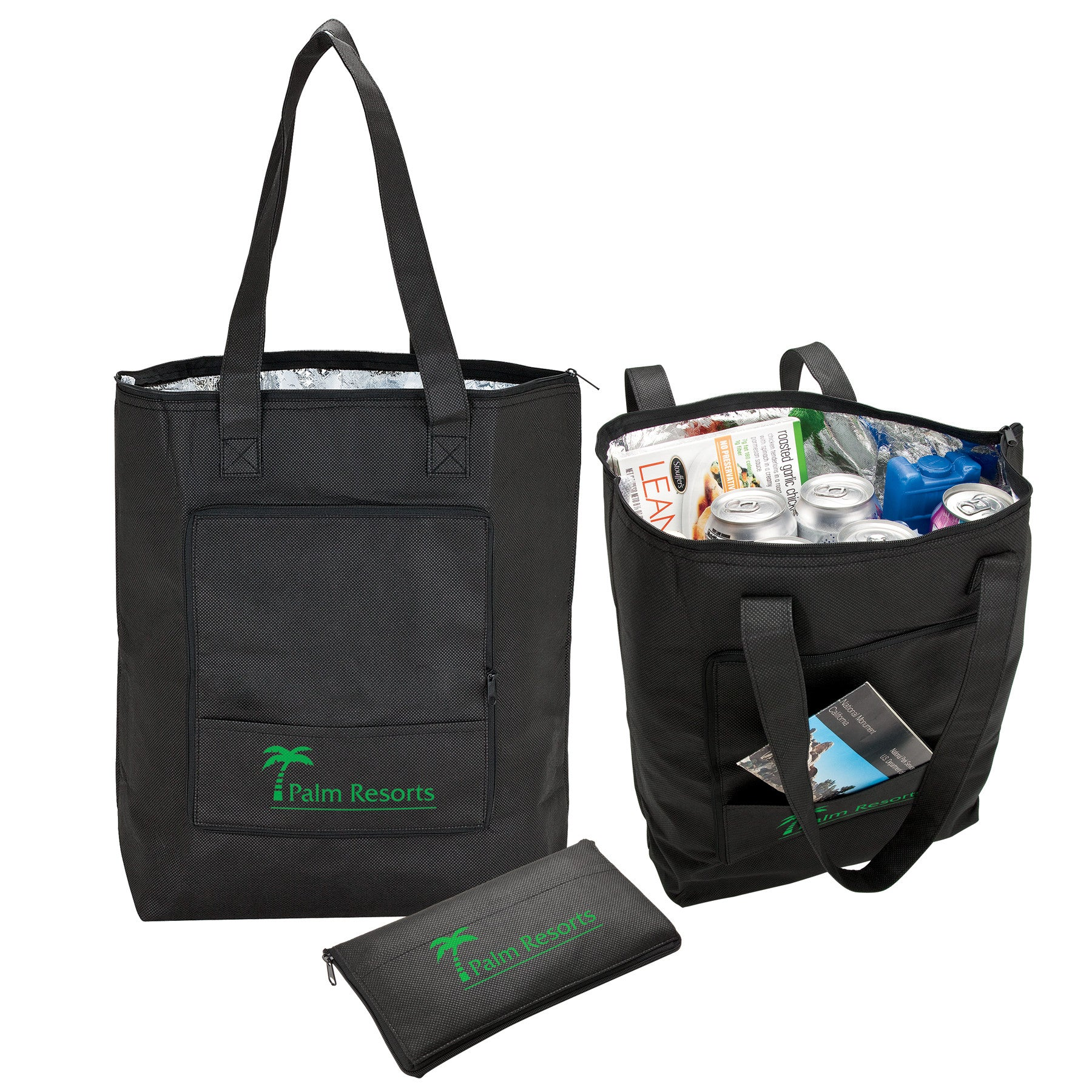 Foldaway Insulated Grocery Tote