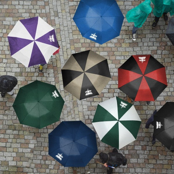 Folding Umbrella with Logo - 11 Colors