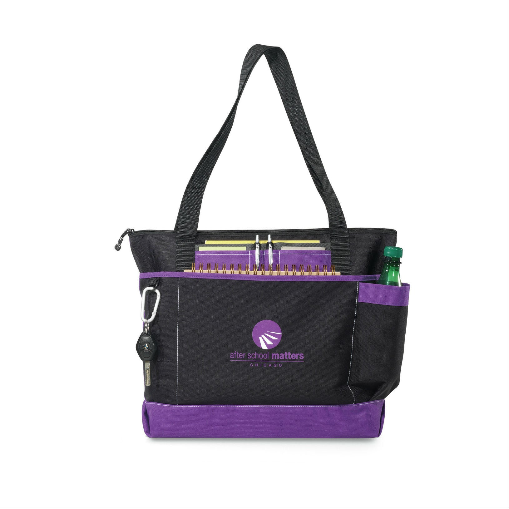 Business Totes with ID Window