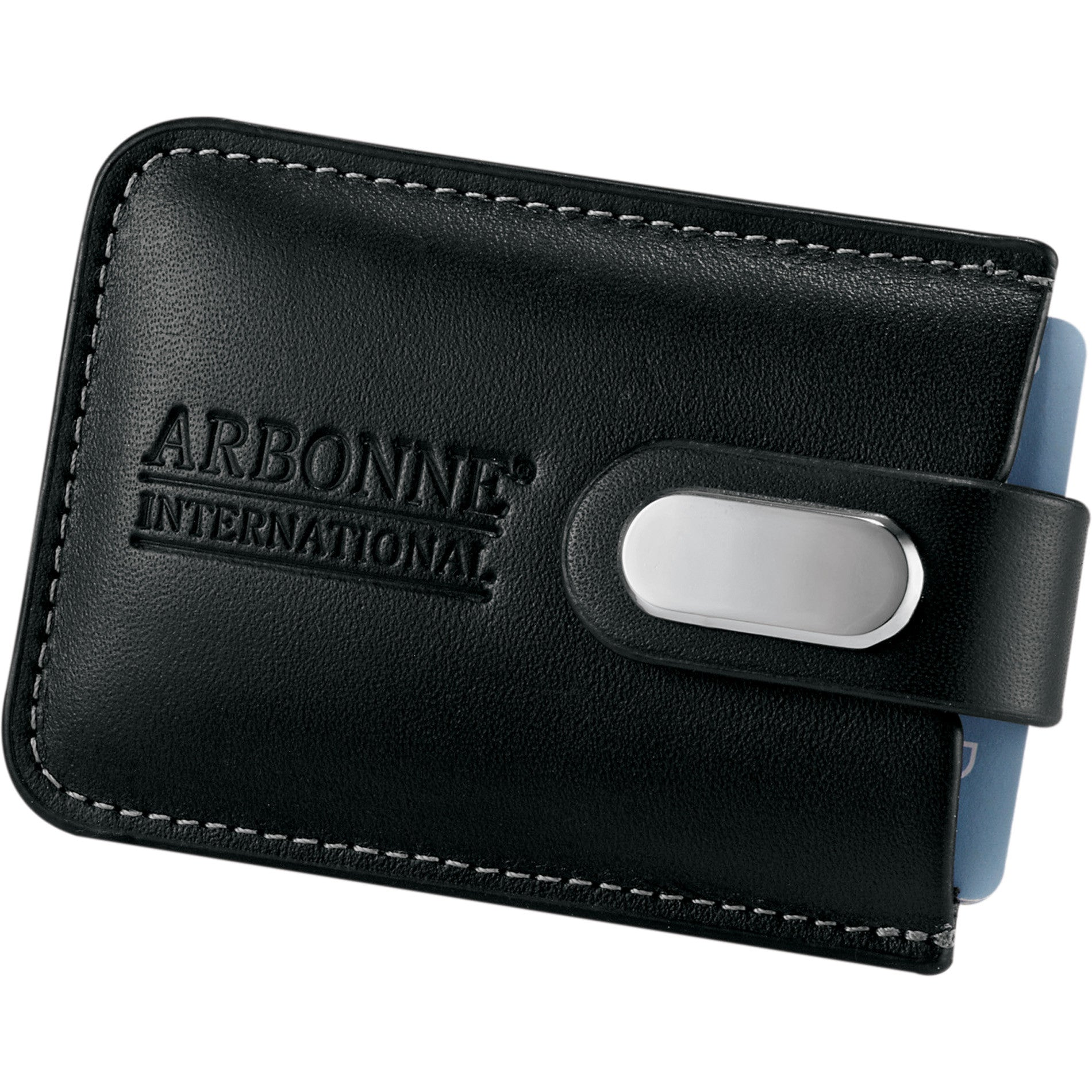 Your Logo on Business Card Holder and Leather Card Case - PROMOrx