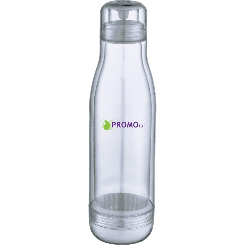 17 oz. Plastic Water Bottles with Glass Liner