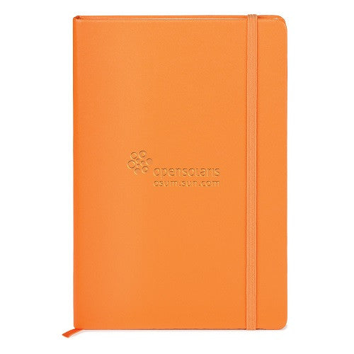 Promotional Journals Debossed Orange PMS 157