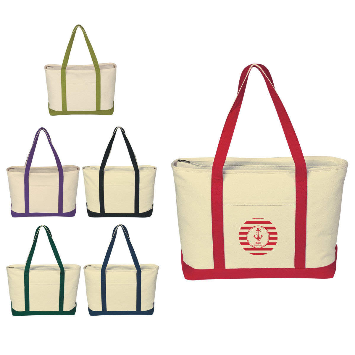 Deluxe Canvas Tote Bags
