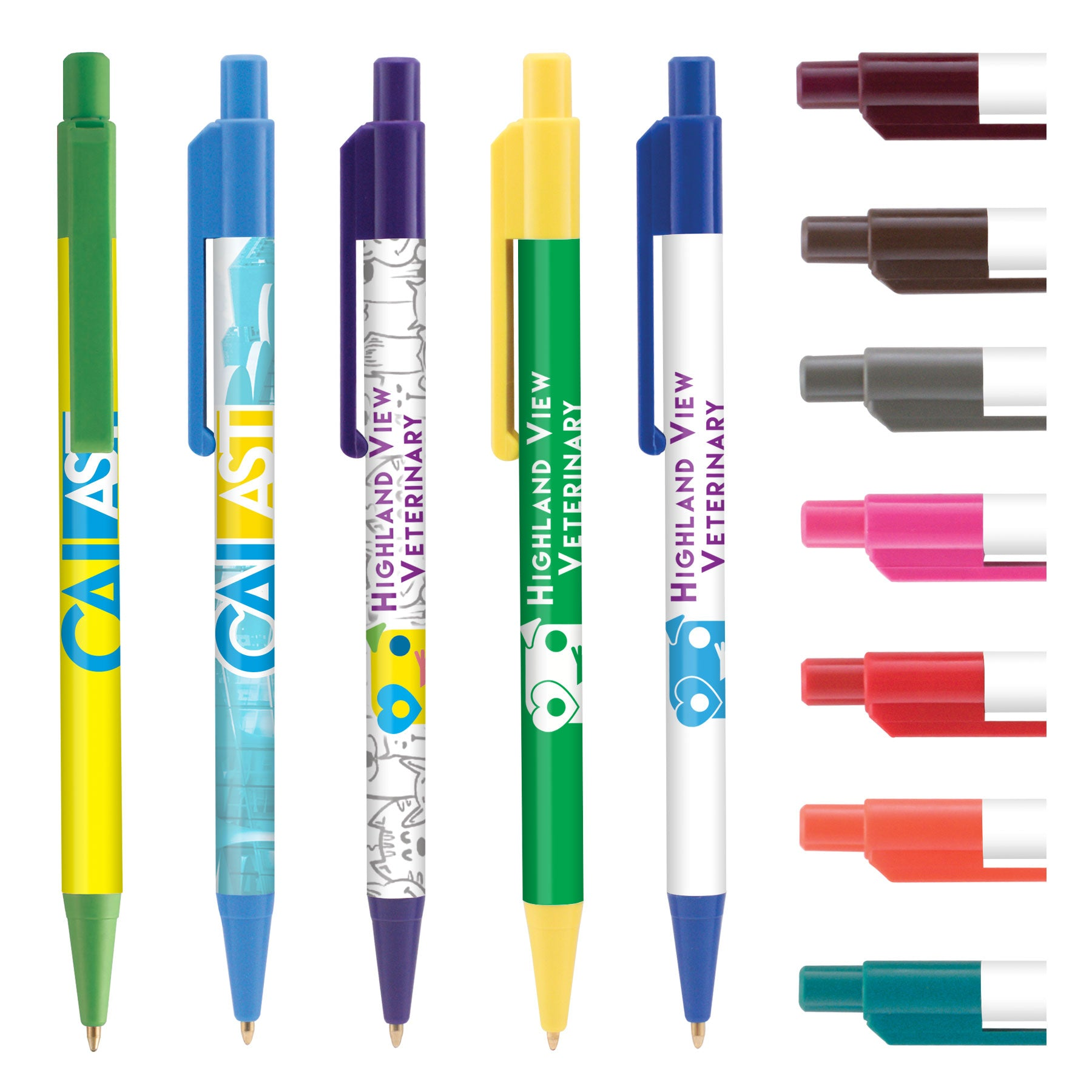 Printed Retractable Pens