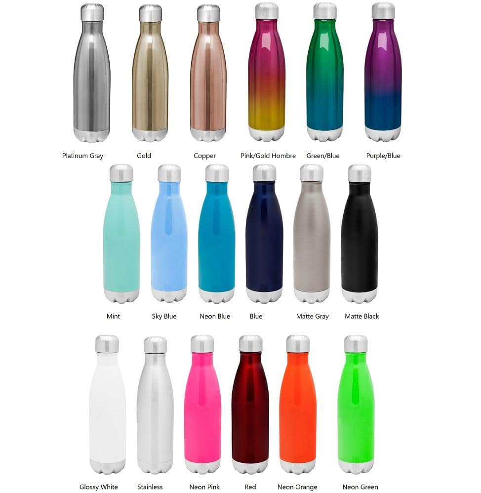 Custom Insulated Water Bottles | S'well Type Bottle
