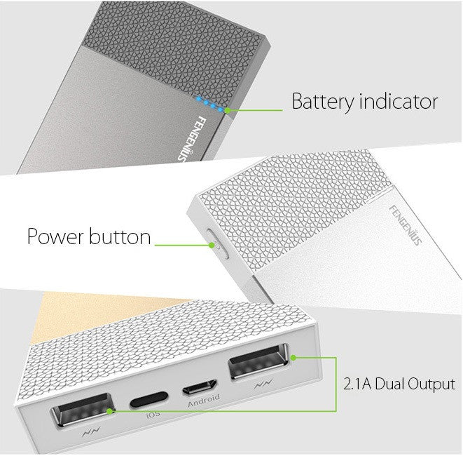 Power Bank With Apple Lightning Port