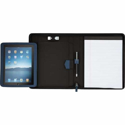 iPad Case with Notepaper Pad Open