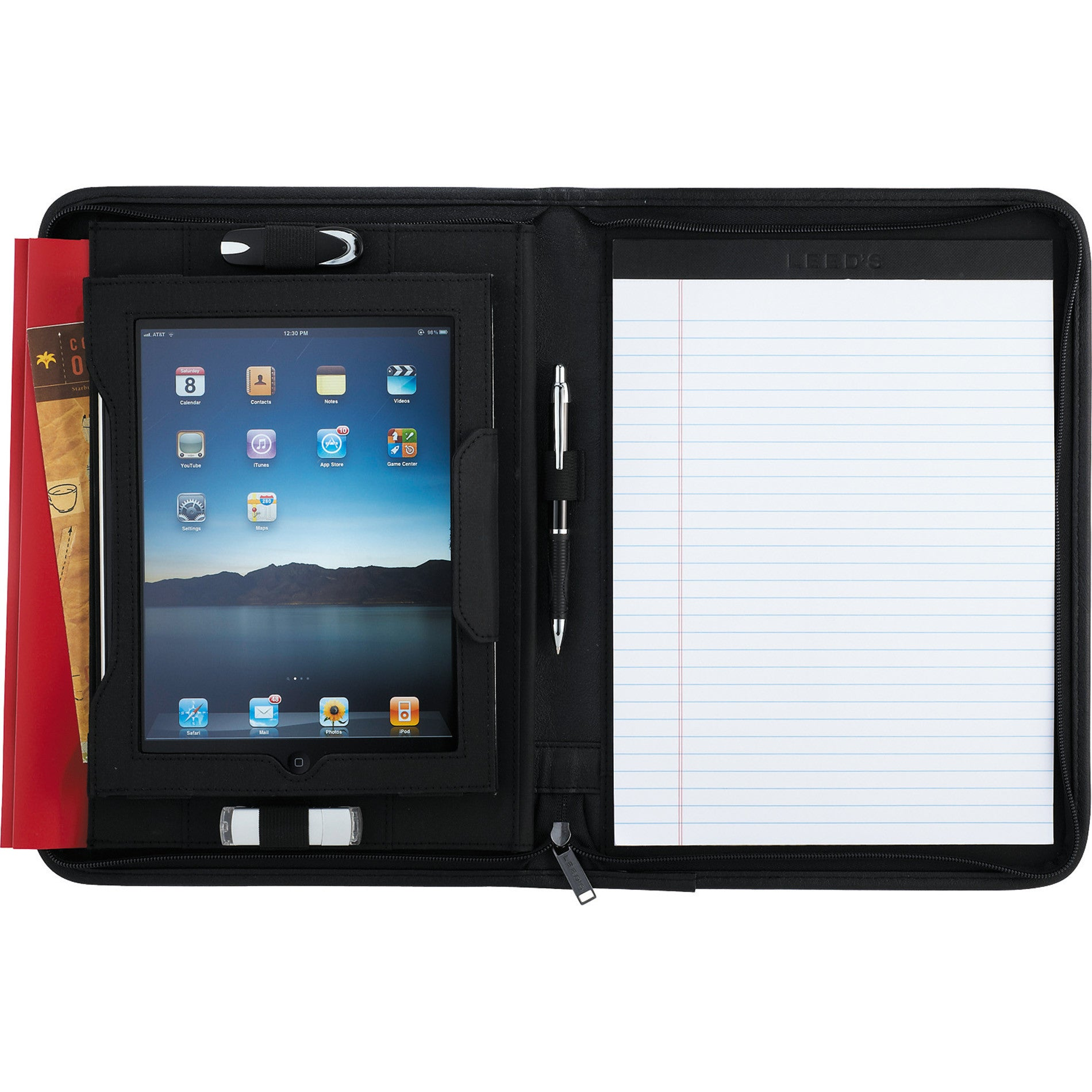 Basic iPad Case with Notepad