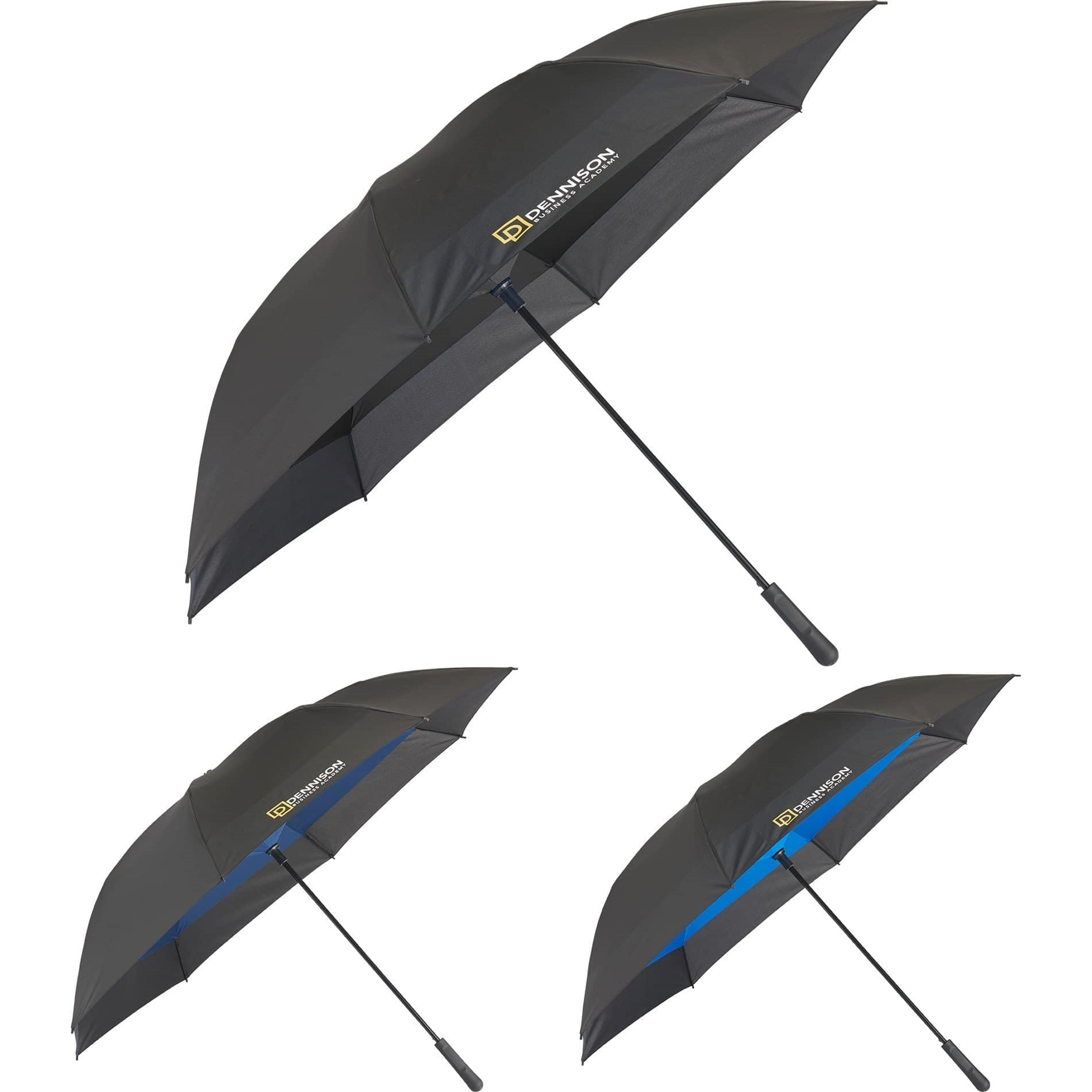 Jumbo inverted umbrellas with logo