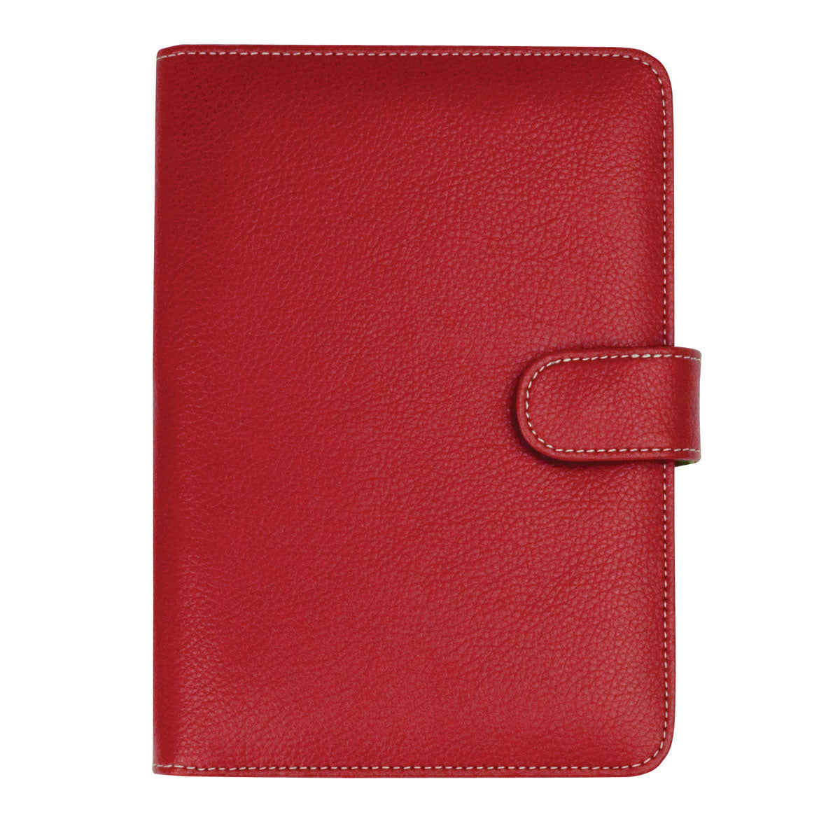 Red - Junior Leatherette Padfolio
