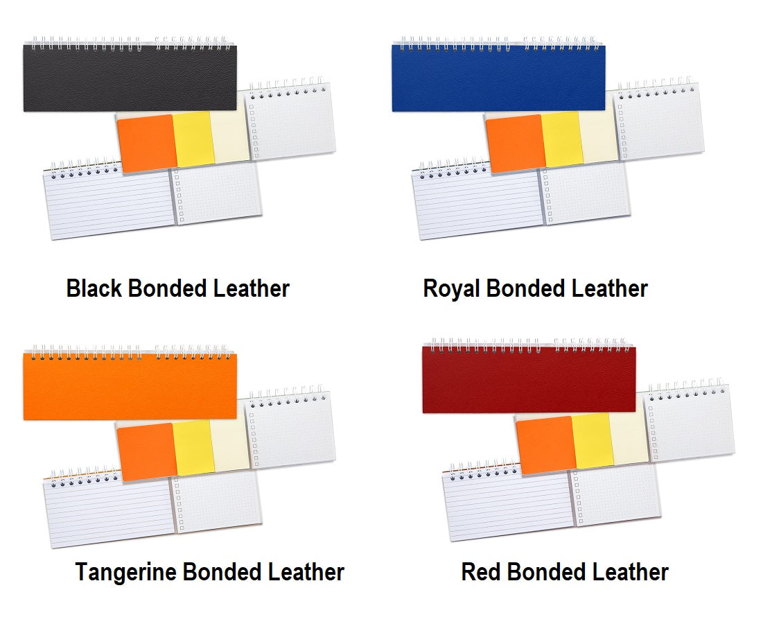 custom note paper bonded leather