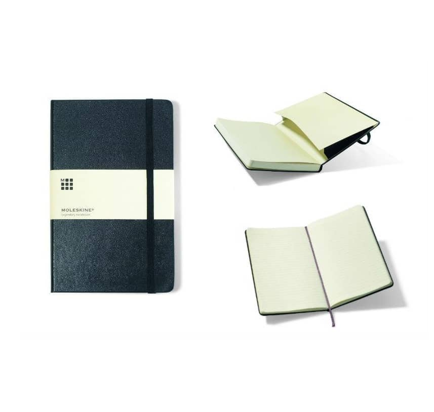 custom moleskine hardcover journal