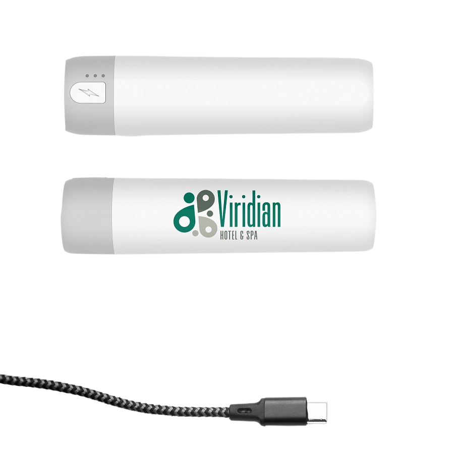 pocket promotional backup battery with cable