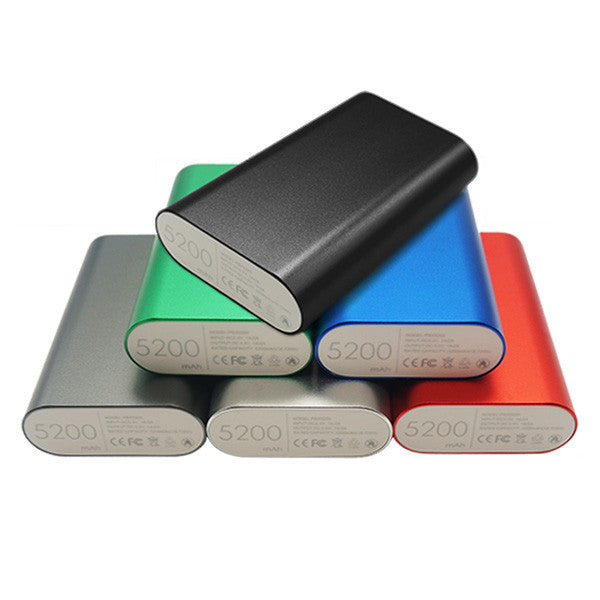 Power Banks Dual Current 5200mAh
