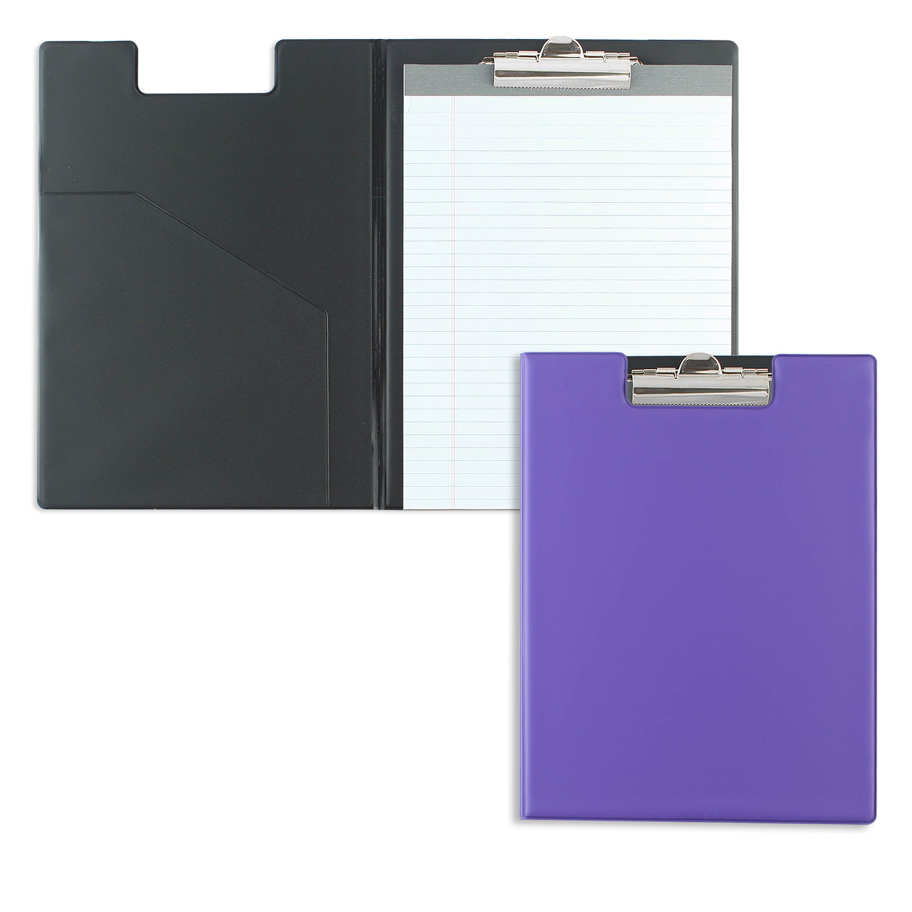Purple Writing Pad Folder with Logo