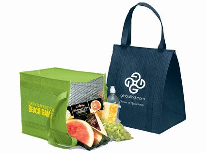 Insulated Grocery Shopping Bags (Recycled Material)