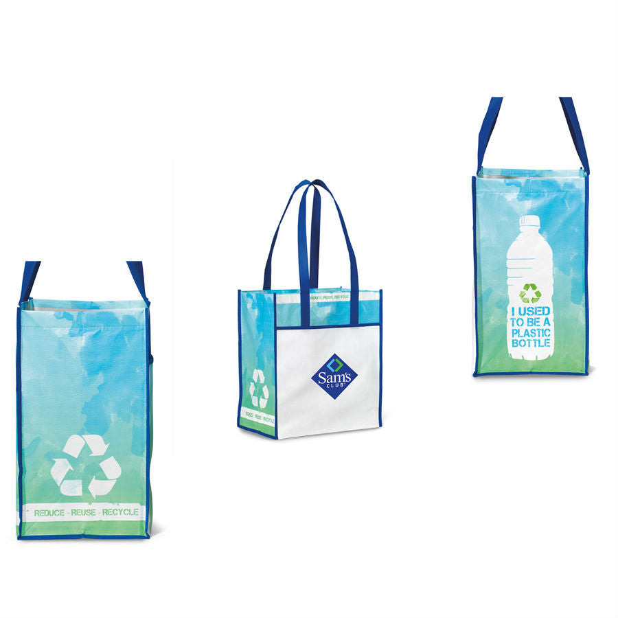 da302add00346 Recycled Laminated Tote Bag-Custom Recycled Tote Bags - PROMOrx