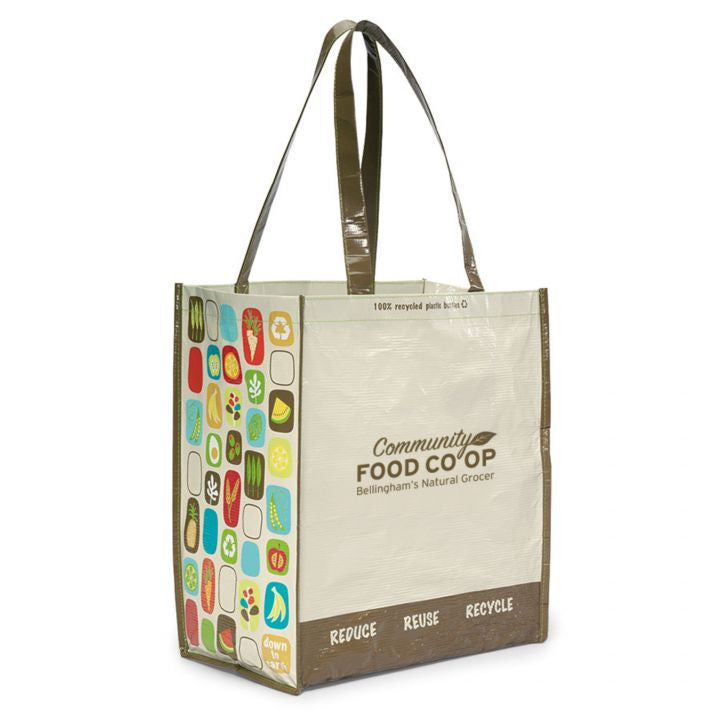 Recycled Promotional Tote Bags - Natural/Brown
