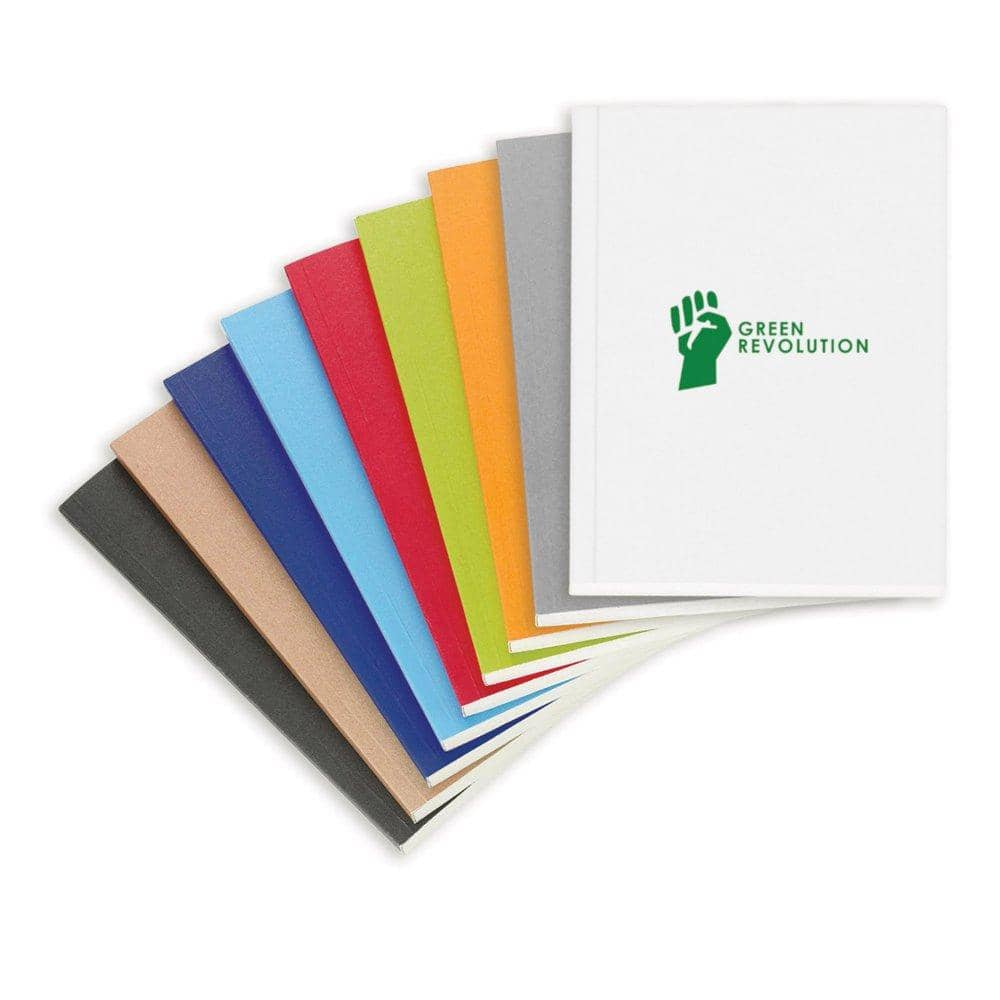 recycled paper journals with logo