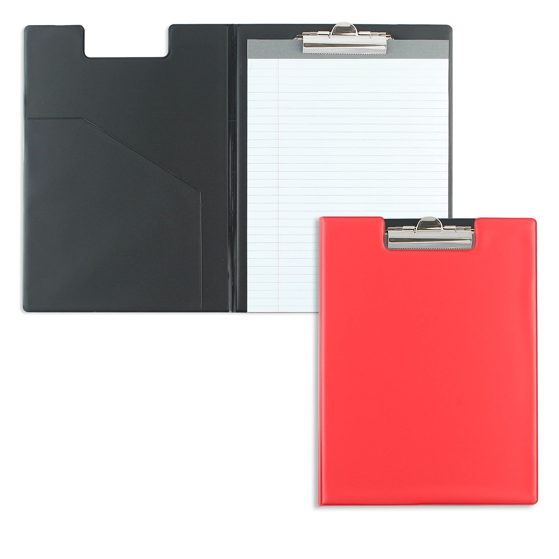 Red Writing Pad Folder with Logo