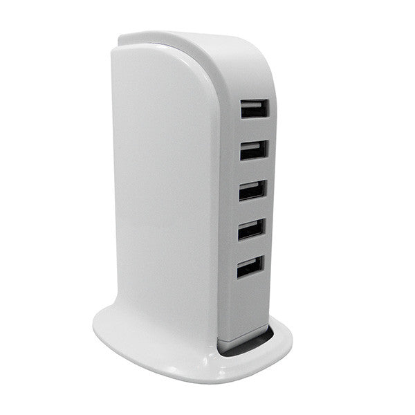 5 Port USB Charging Station AC Power