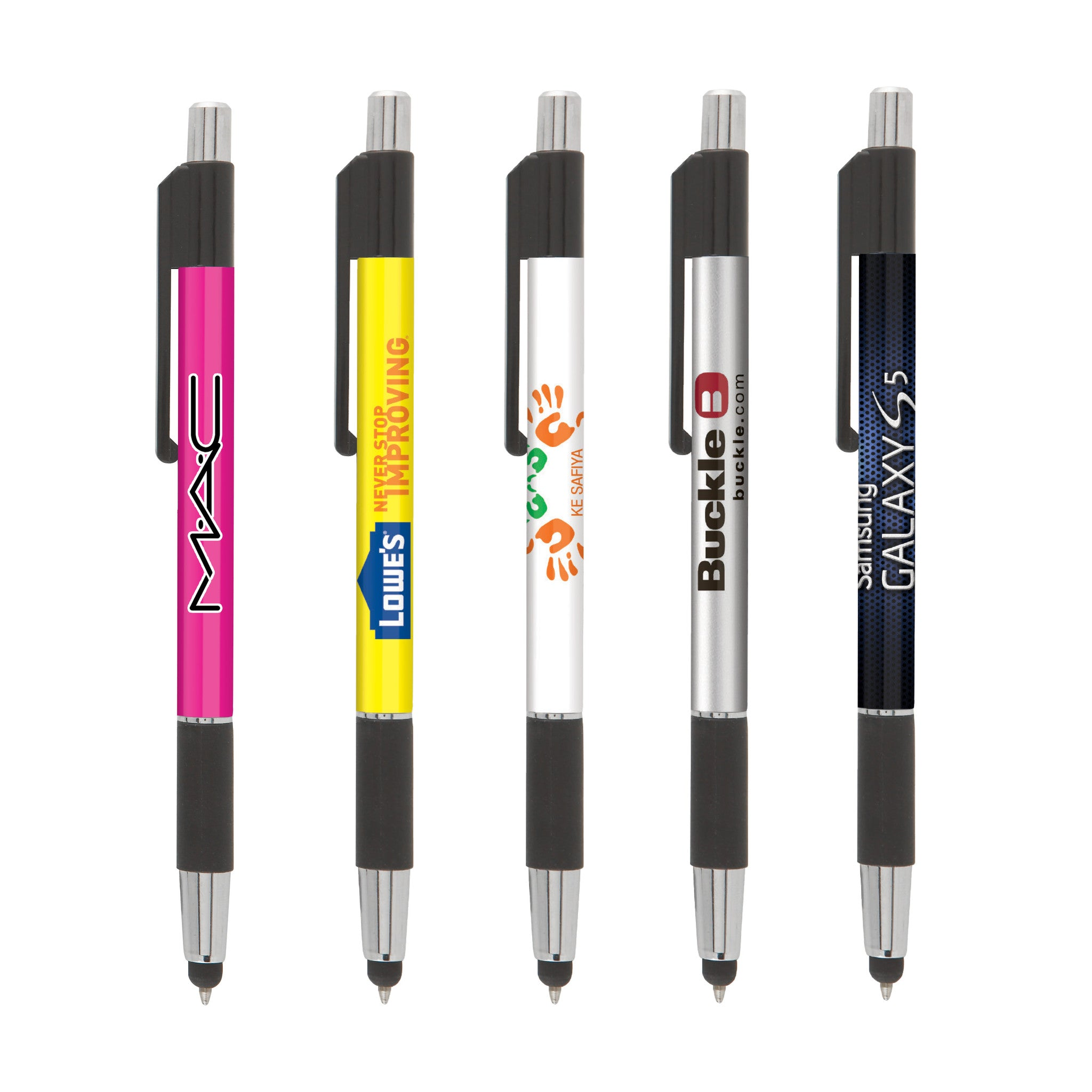 Slender Stylus Pen with Full Color Imprint
