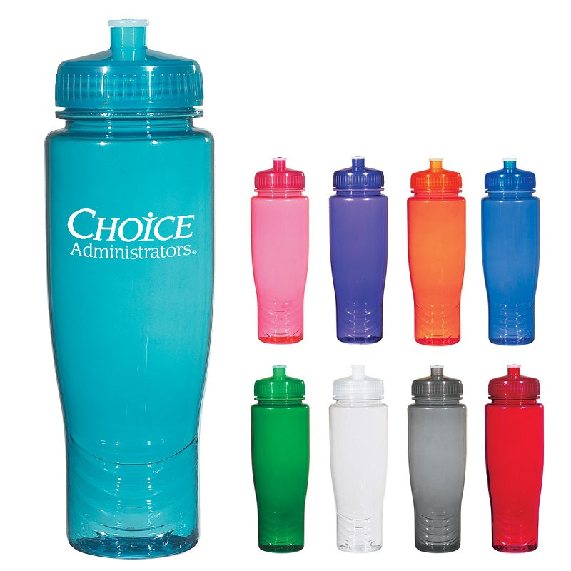 Sports Bottles with Push Pull Lids