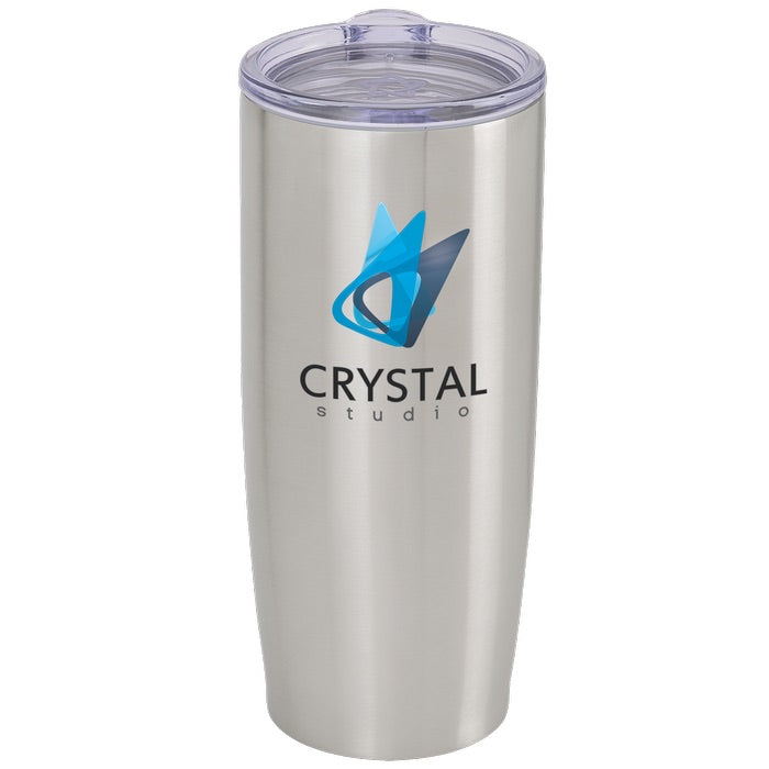 stainless steel insulated tumbler full color print