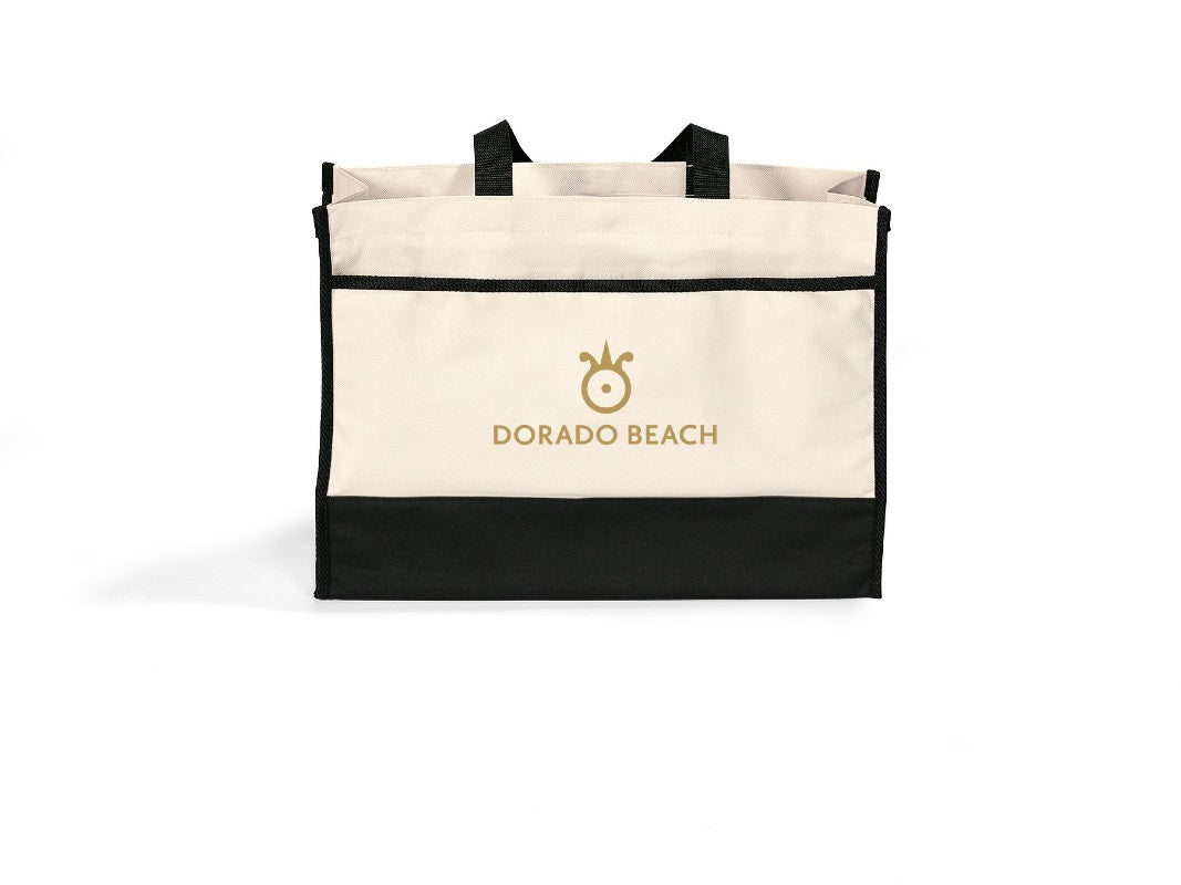 Tote Bag with Velcro Close Pocket