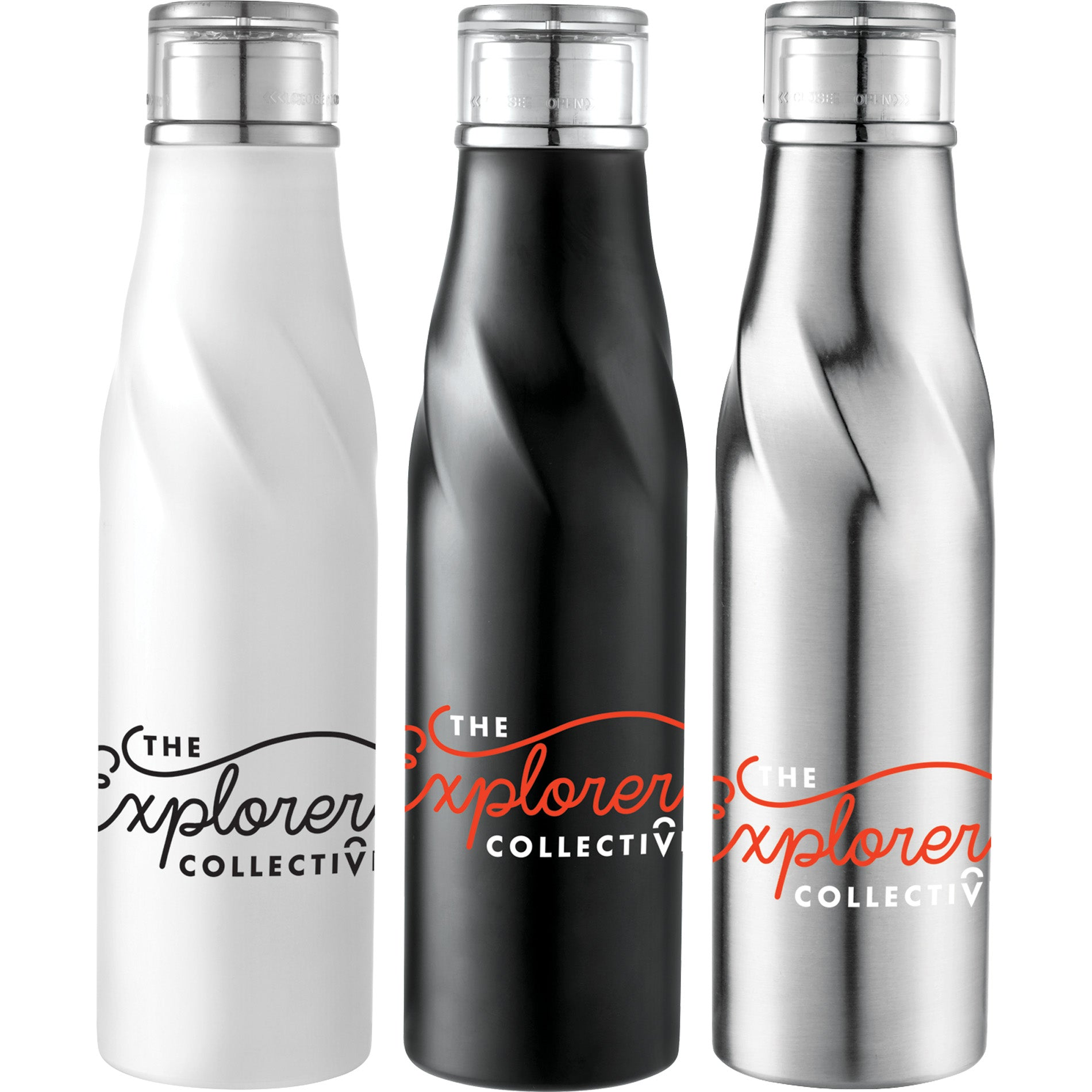 Twist Top Insulated Water Bottle