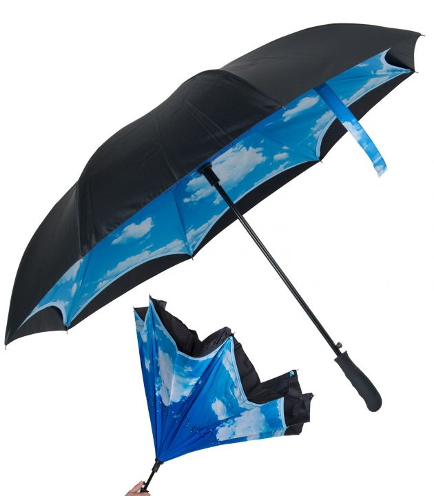 inside out custom umbrella sky lining