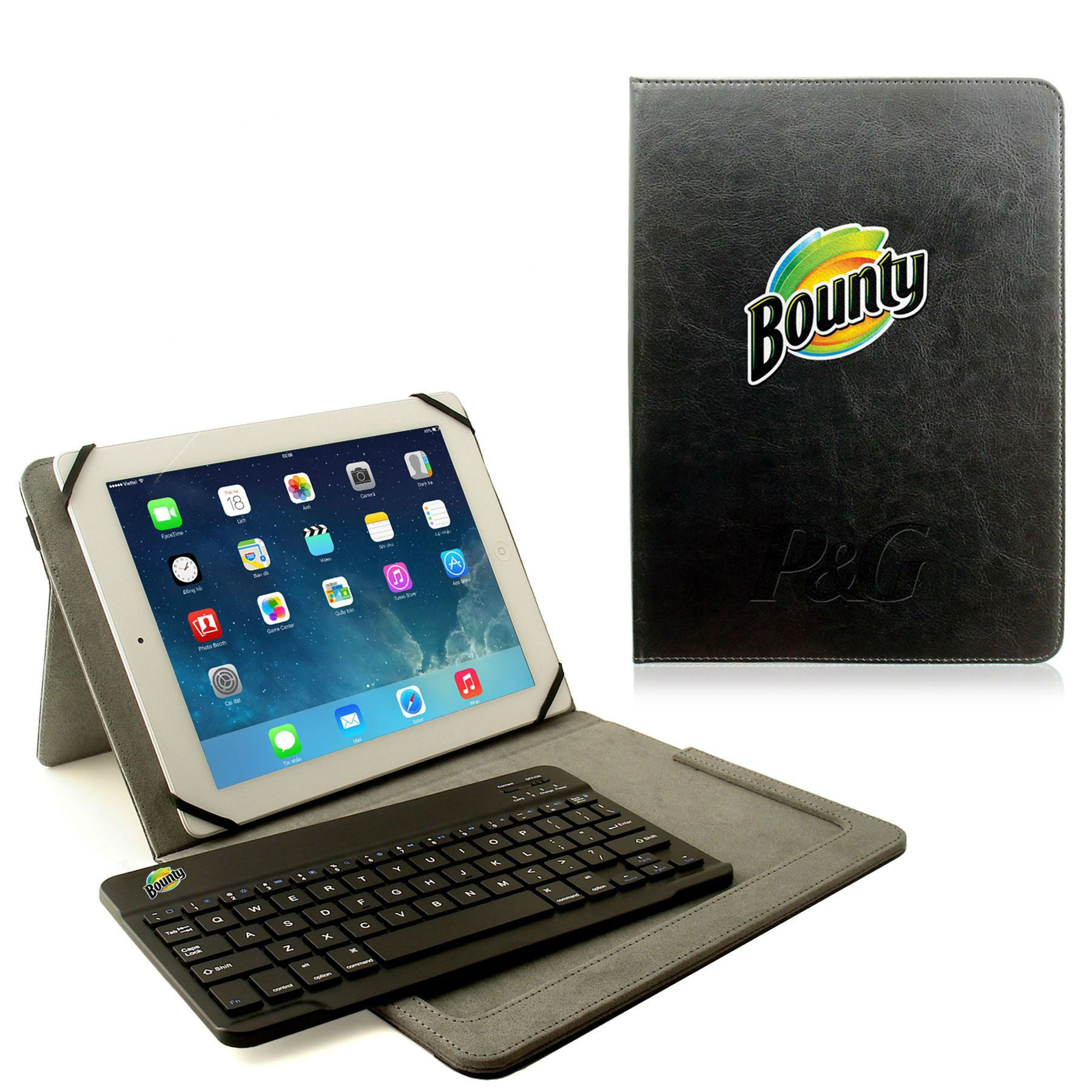 Universal Tablet Case with Keyboard
