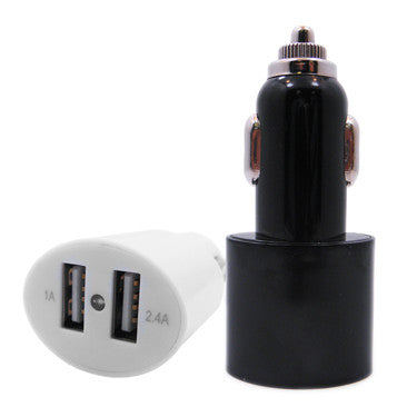 usb car charger two ports