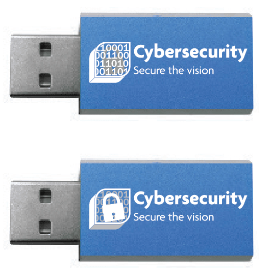 usb data blocker logo engraved
