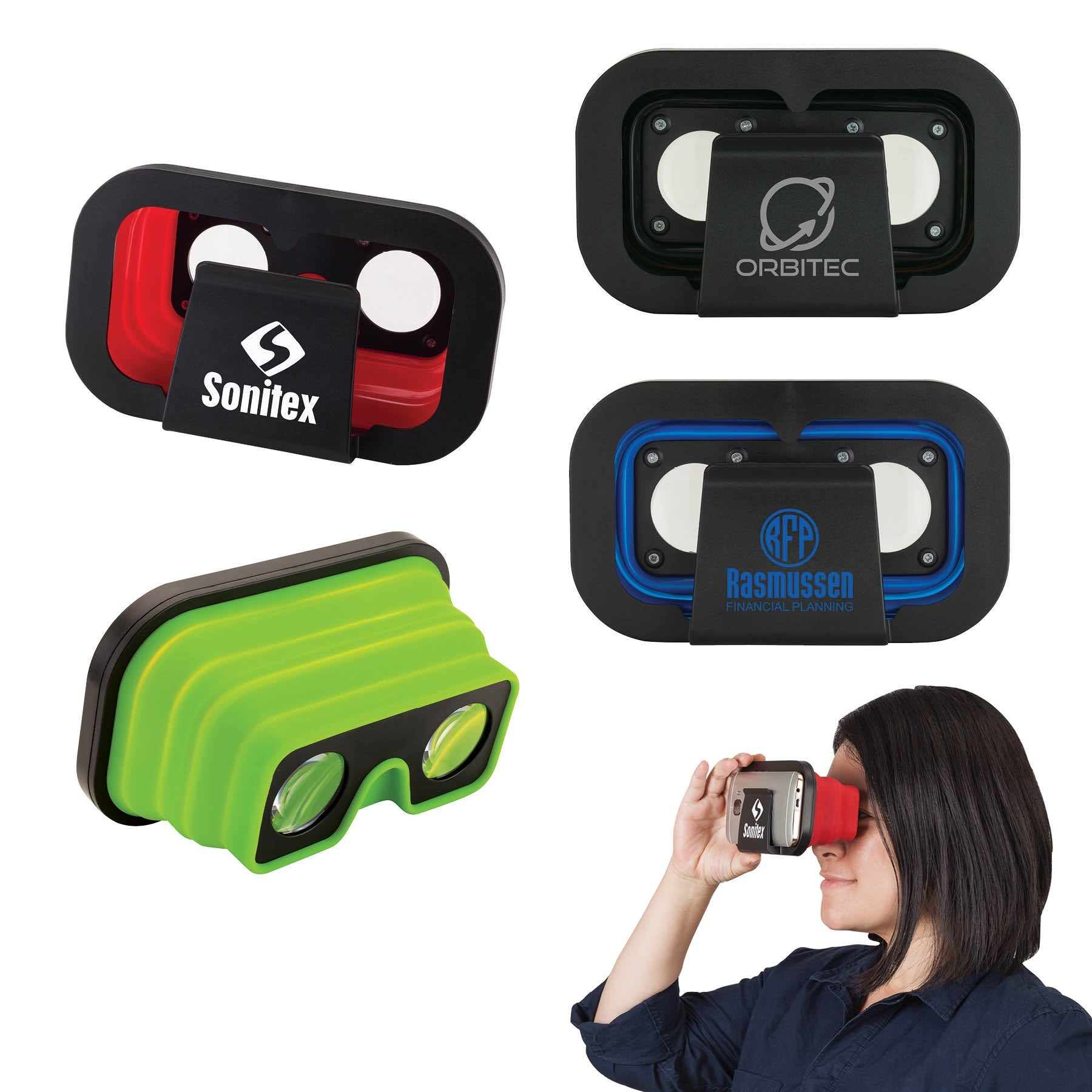 Expandable Virtual Reality Viewer