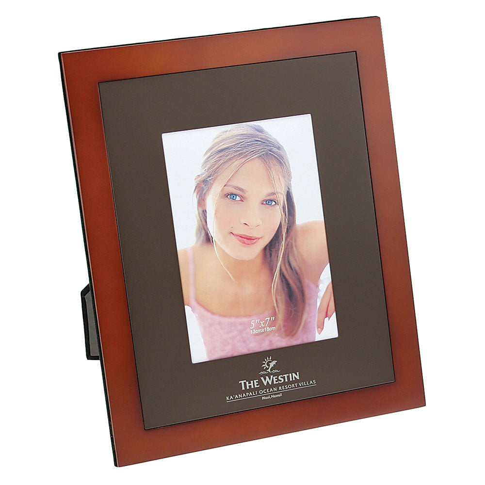Wood and Metal Picture Frame