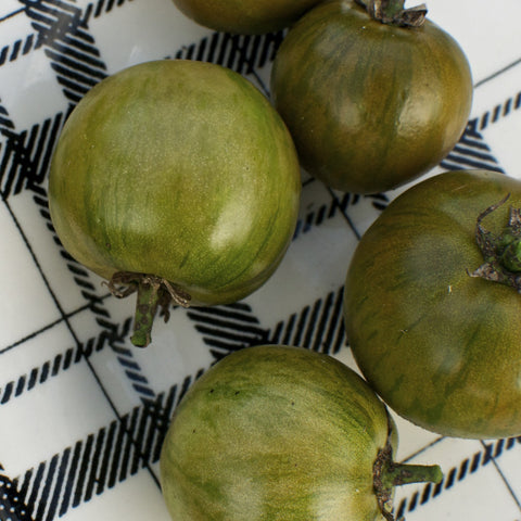 Black Zebra Striped Tomato Seeds