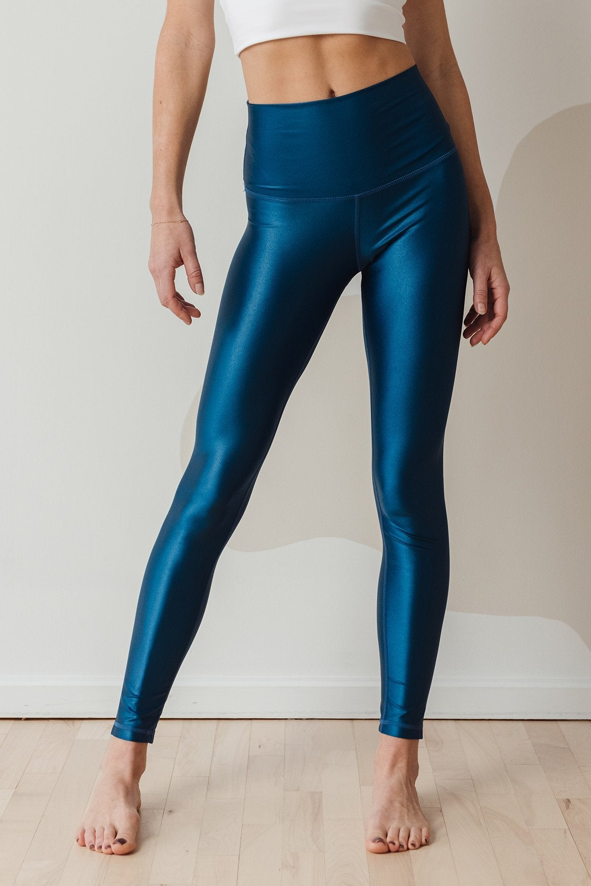 High Shine Signature Tight Blue Opal, tights - shopdyi.com