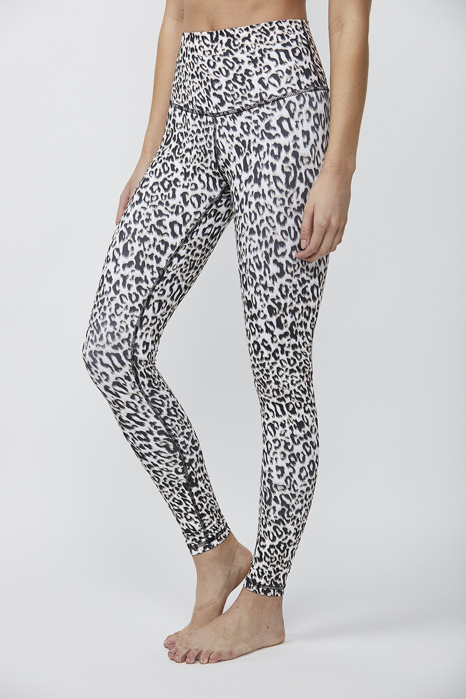 Printed Signature Tight Leopard Black Brown, TIGHT - shopdyi.com