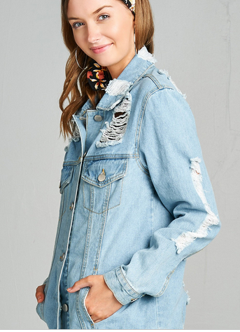 Extreme Distressed Jacket