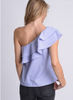 One Shoulder Ruffle Top - MADDOX