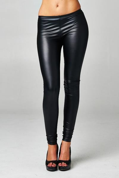 Leather Leggings - MADDOX