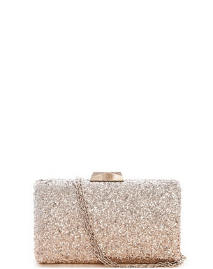 Ombre Glitter Clutch   [color options] - MADDOX