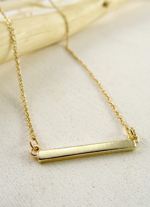Side Bar Necklace - MADDOX