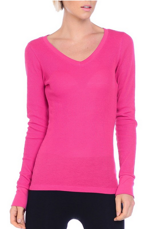 Thermal V Neck