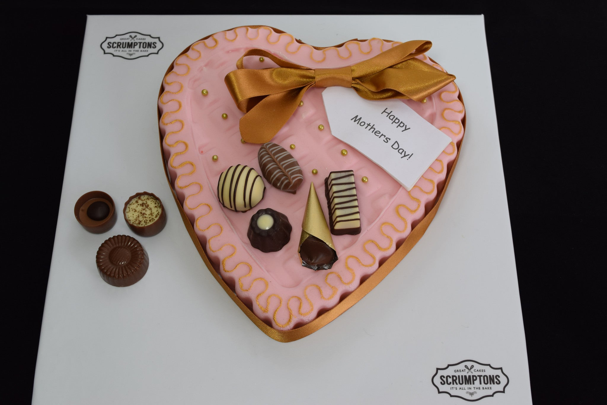 Mothers Day Chocolate Box Cake
