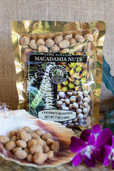 Coconut Roasted Macadamia Nuts